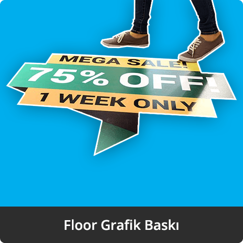 floor grafik yer grafiği baskı