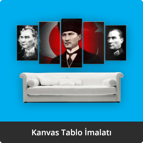 kanvas tablo imalatı